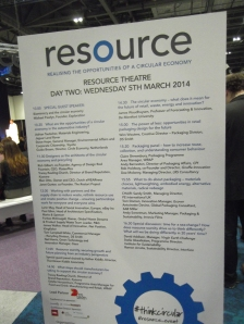 Programme schedule for day 2 at the resource theatre